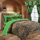 1 pc Queen size comforter (Natural, Brown Camouflage)