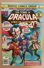Tomb of Dracula #53 VF Blade appearance