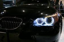 LUCI POSIZIONI LED RESISTENZA CANBUS 6000K ANGEL EYES BMW SERIE 5 E61 E60