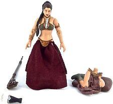 Star Wars: The Legacy Collection 2009 PRINCESS LEIA (JABBA'S SLAVE) (BD17) Loose