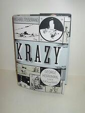 KRAZY GEORGE HERRIMAN A LIFE IN BLACK AND WHITE HARDCOVER BOOK MICHAEL TISSERAND