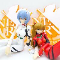 Evangelion Asuka Langley & Rei Ayanami Flash a Smile Extra Figure SEGA Prize