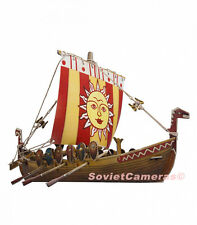 Russian Shallop Ship Boat Ladia Cardboard Model kit Wargame Terrain Scenery New