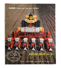 Vintage CASE 1967 Buyers Guide Advertising Dealer Catalog Farm Tractor Machinery