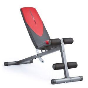 NEW Weider Pro 225 L Bench | Leg Lockdown | Flat Incline Decline | CAP Strength