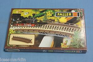Faller 120554 Curved Bridge Kit HO