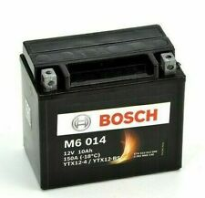 Bosch YTX12-BS 12V 10Ah Batteria per Piaggio Beverly 125
