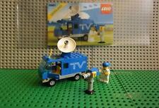 Lego - 6661 Legoland - Mobiler - TV Wagen - Auto - - Figur -