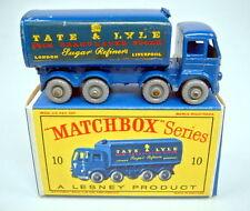 """MATCHBOX rw 10c sugar conteneur GRISE roues dans """"D"""" BOX"""