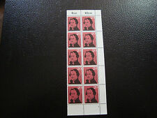 ALLEMAGNE (rfa) - timbre - yvert et tellier n° 201 x10 n** (A6) stamp germany