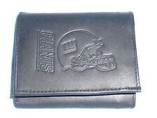 New York NY GIANTS    Leather TriFold Wallet    NEW    black  z  lw  --z sd