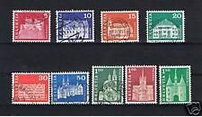 8 Francobolli Svizzera usati