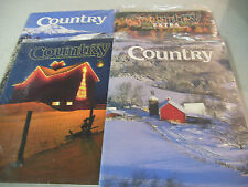 Amazing Lot of 4 1992 ''Country Store'' Catalogs/Magazines