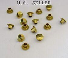 "Brass Hollow Rivets 3/32"" Wide x 3/32"" Long Package Of 100"