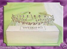 BNWT in Box BHS Diamante Rhinestone Wave Bridal Wedding TIARA Silver Band