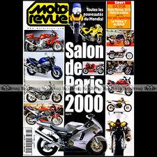 MOTO REVUE N°3393 KAWASAKI W650 ZX-12R 6R SUZUKI GSXR 750 ★ SPECIAL SALON 2000 ★