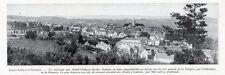 48 SAINT CHELY D APCHER VUE GENERALE IMAGE 1924 OLD PRINT