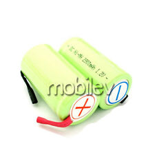 2 x SubC Sub C NiMH 2900mAh Rechargeable Battery Tab G1