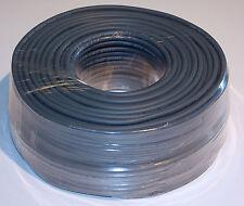 100m Rolle Lautsprecher Kabel Boxen Kabel 100m Rolle 2x 1,5qmm blaugrau twinax