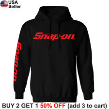 Snap-On Tools Hooded Sweatshirt Mechanic Racing Auto Part Sweater Shirt Hoodie