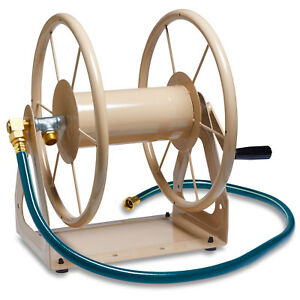 Liberty Garden LBG7031 200 Foot Multi Purpose Steel Garden Hose Storage Reel