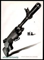 2012 SPRINGFIELD ARMORY M1A Rifle PRINT AD Gun Advertising Page