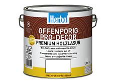 Herbol Offenporig Pro-Decor Premium Holzlasur 0,375L, farblos