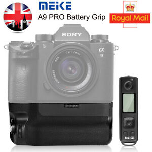 Meike MK-A9 Pro Vertical Battery Grip Remote Control for Sony A9 A7 RIII A7III