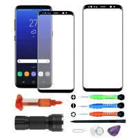Replacement Screen Glass For Samsung Galaxy S8 S9 S10 Plus S10e Note 8 9 Tools