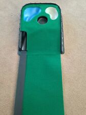 Deluxe JL Golf putting mat with hazards. Returns ball.   *NEW* xmas gift