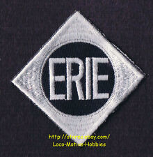 LMH PATCH Badge  ERIE Lackawanna  EL  Delaware DL&W Railroad  Gray on Navy Blue