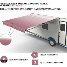 "RV Awning Fabric Replace for 13' Carefree / Dometic Awning ( Fabric Size 12'2"")"