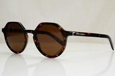 Authentic DOLCE & GABBANA Mens Womens Sunglasses Brown DG 4353 502/73 28540