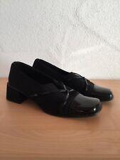 Janet D. Damen Schuhe Halbschuhe schwarz Größe 41