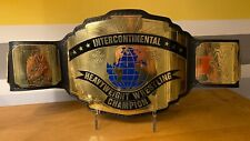 WWF Classic Intercontinental Wrestling Championship Adult Size Replica Belt WWE