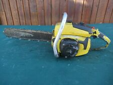 "Vintage McCULLOCH PRO 10-10 AUTOMATIC Chainsaw Chain Saw with 15"" Bar"