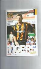 Hull City Championship Home Teams F-K Football Programmes