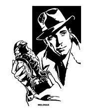 Humphrey Bogart / The Maltese Falcon by Peter Melonas