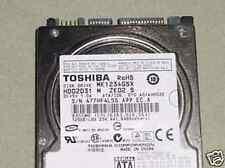 "Toshiba MK1234GSX (HDD2D31 M ZK02 S) 010 A0/AH002E Sata 120gb 2.5"" Hard Drive"