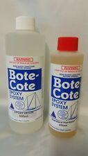 Bote-Cote 750ml Epoxy Resin Kit. Boat building resin. Safer hardener
