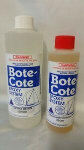 Bote-Cote 750ml Epoxy Resin Kit. Boat building resin. Tropical hardener