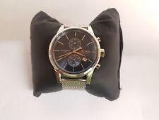 Hugo Boss Para Hombre Jet Correa de Malla de Acero Inoxidable Cronógrafo Reloj Redondo 1513441