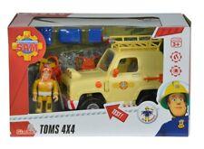Simba 109251001 - Fireman Sam - Tom ´S 4X4 off Road Car with Figure - New