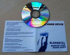 THE JIM JONES REVUE Elemental / Burning Your House Down UK 2-track promo test CD