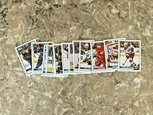 2019-20 Topps NHL Hockey Stickers Pick 10 lot Complete your Book ***Updated 9/26