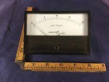Vintage Delta Scientific  PPM Oxygen Meter 0-20