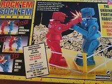 Mattel Rockem Sockem Robots, New In Box