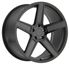 18x9.5 TSW Ascent 5x120 Rims +20 Black Wheels (Set of 4)