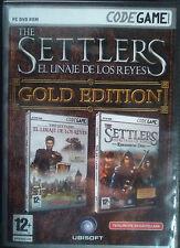 THE SETTLERS GOLD EDITION. EL LINAJE DE LOS REYES. JUEGO PC. USADO.
