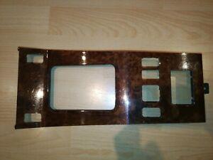 W124 Wurzelholz Mittelkonsole Reiserechner Sitzheizung  efH Fensterheber selten
